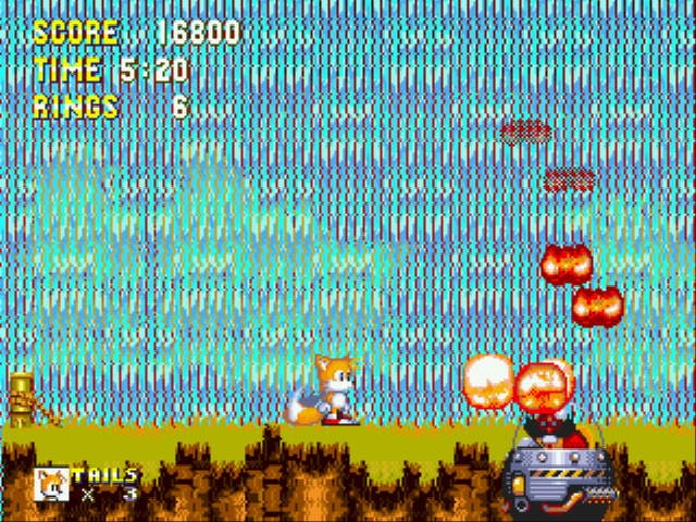 Sonic the Hedgehog 3 - TAKe that eggman! - User Screenshot